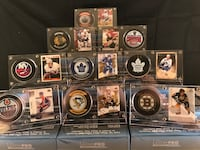 Hockey Displays - comes with your choice of player card and team puck St Catharines, L2S 3S2
