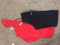 red and black Nike shorts Omaha, 68111