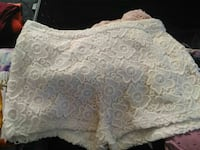 white lace shorts Barstow, 92311