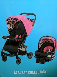 Brand New Graco Carseat/ Stroller combo - Pink Bismarck, 58501