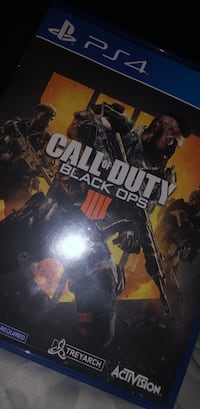 PS4 Call of Duty Black Ops 3 game case Fresno, 93722