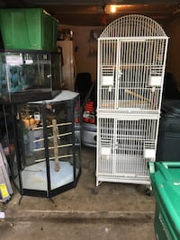 Tanks and cages for sale Rockville, 20852