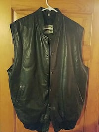 Genuine lined leather vest, mens M Middletown, 07748