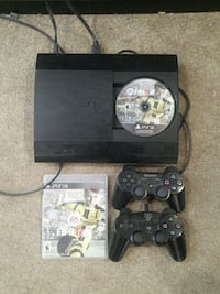 Sony ps3 super slim console with two controllers Ajax, L1T