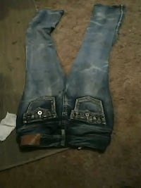 washed denim jeans Thermopolis, 82443