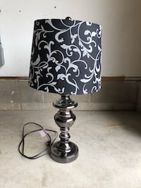 black and white table lamp Brielle, 08730