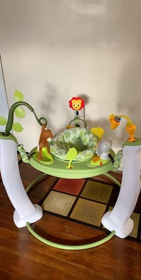 baby's white and green jumperoo Silver Spring, 20901
