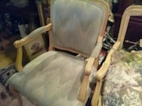 2 antiques, chairs , project ,$70