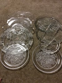 JUST REDUCED glass plates