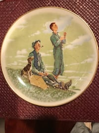 Limited edition Norman Rockwell plate Silver Spring, 20904