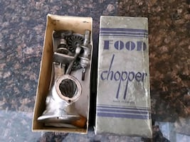 Antique  food  chopper