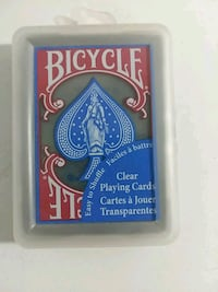 Bicycle clear plastic playing cards  San Antonio, 78237