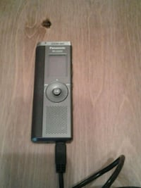 Panasonic digital recorder with charging cable