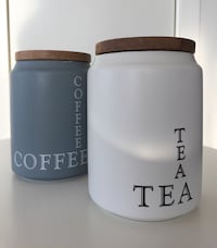 Coffee & Tea Jar