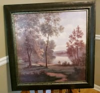 brown wooden framed painting of trees Athens, 30605