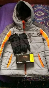 Junior/Small coat, gloves, goggles snow ski Millersville, 21108