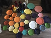 Moving sale: Fiestaware collection Castle Pines, 80108