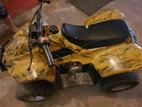 Marrone e nero ATV quadbike Sant'Antonio Abate, 80057