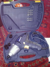 black and gray corded power tool Coquitlam, V3J 1X9