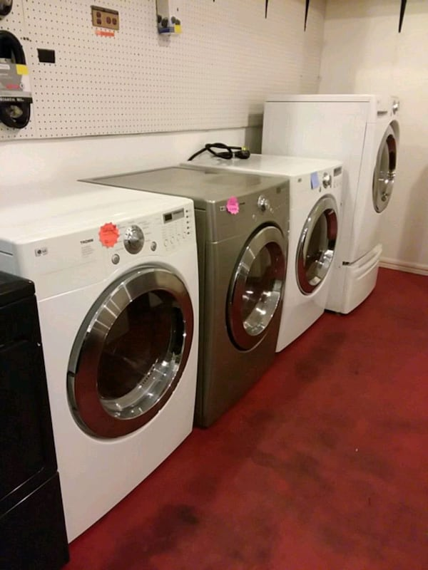 front load dryers excellent condition 4months warranty ( (Phone number hidden by letgo)  e948dbaa-b0dd-460d-825c-c717abbed33d
