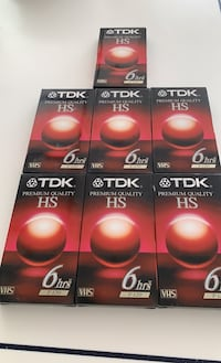 TDK Premium Quality VHS tapes Mc Lean, 22101