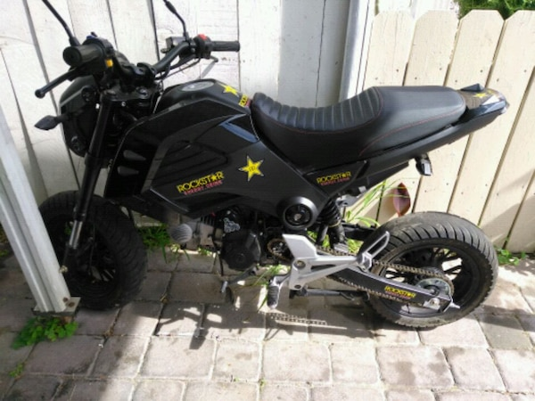 Boom vader just like honda grom 125cc $700 firm!!!