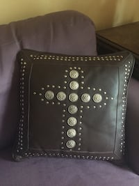 black leather studded leather wallet Urbandale, 50322