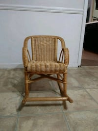 Kids wicker chair Lithonia, 30058