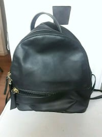 black leather mini backpack Palmdale, 93551