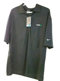 Brand New Nike Drifit Golf Shirt - AMD Edition.  Toronto, M9C 4W4