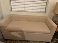 Cute Tan Loveseat / Bench with Storage! Chicago, 60625