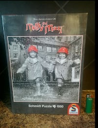 Brans New Black/white and red Moll and Mary Puzzle Calgary, T2J 0Y5
