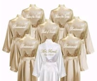personalized bridesmaid robes Toronto, M1E 4E8