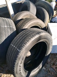 Used P275/60R20 Goodyear tires