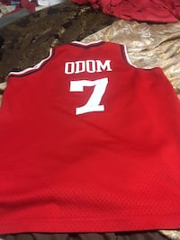 Los Angeles CLIPPERS Basketball Jersey #7 LAMAR ODOM Red Nike  size L Surrey, V3V 5C9