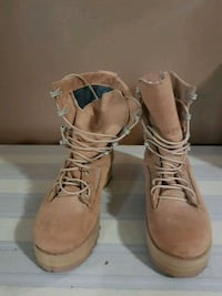 BNWOB Never worn so the are in EC  Ladies Stee toe tanned work boots. Surrey, V3T 5E2