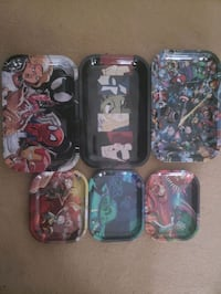 Marvel comics and Rick and Morty rolling trays Woodbridge, 22191