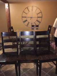Wood table with chairs Snellville, 30039