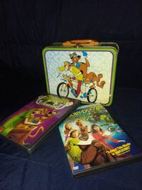 Dvd's and lunchbox Scooby Doo