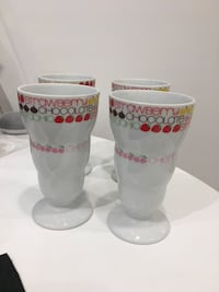 Toscany of Japan Collection Pedestal Footed Ice Cream Cups Toronto, M1S 2Y9