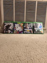 Xbox one games Takoma Park, 20912