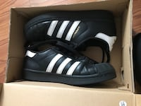 All black superstars adidas  Halethorpe, 21227