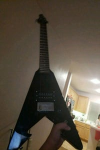 black and gray electric guitar Lancaster, 93535