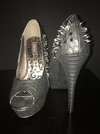 Heels size 9. Brand new without box   Calgary, T2A 7R1