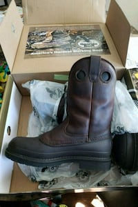 Steel toe work boots  Spring, 77386