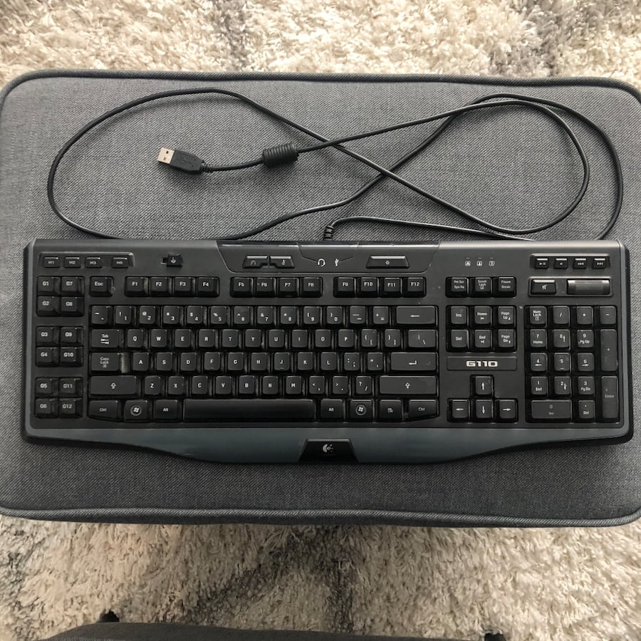 Logitech Backlit Keyboard