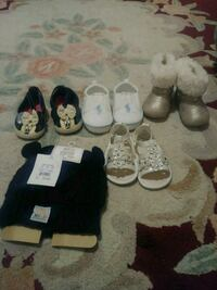 Baby shoes size 3 to 6 months Hayward, 94544