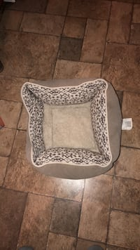 white and gray leopard print pet carrier Washington, 20017