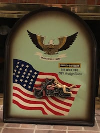 Harley Davidson wall decor