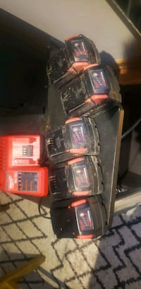 Milwaukee batteries and charger Edmonton, T6K 3B6
